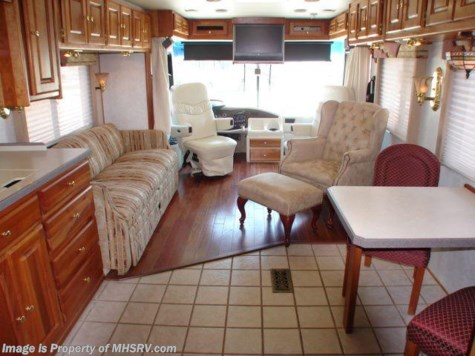 Used 2001 Monaco Diplomat class a diesel motorhome  LE 38' W/ 2 Slides For Sale by Motor Home Specialist available in Alvarado, Texas