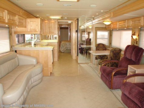 Used 2003 Monaco Dynasty class a diesel motorhome  Tag Axle W/ 3 Slides For Sale by Motor Home Specialist available in Alvarado, Texas