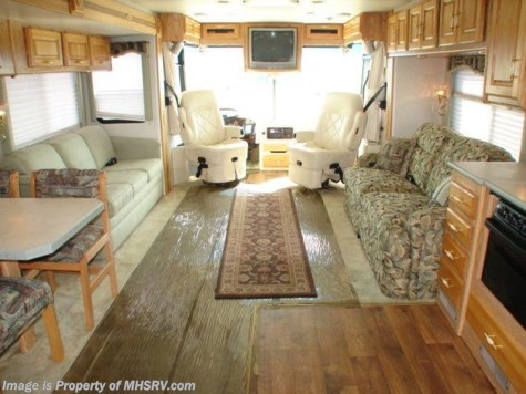 Used 2002 Holiday Rambler Endeavor motorhome  38' W/ 3 Slides For Sale by Motor Home Specialist available in Alvarado, Texas
