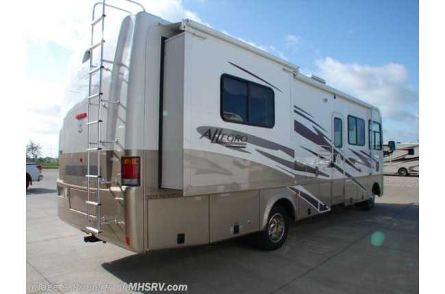 Used 2006 tiffin allegro for Class a rv height