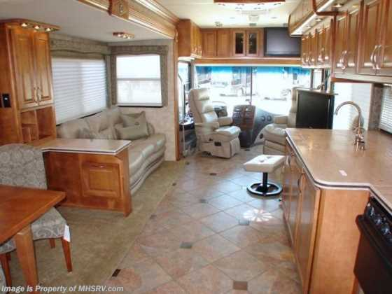 Used 2009 Gulf Stream Tour Master W/3 Slides (T40B) Used RV For Sale Floorplan