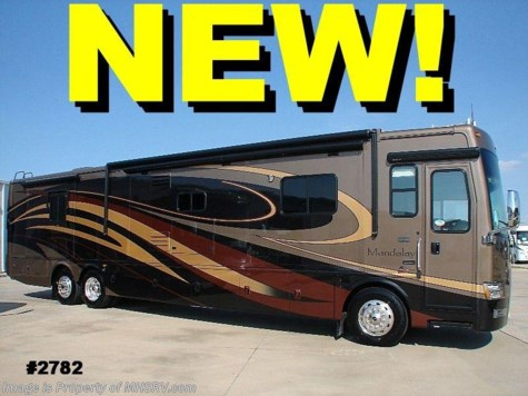New 2009 Mandalay class a diesel motorhome  43' W/4 Slides For Sale by Motor Home Specialist available in Alvarado, Texas