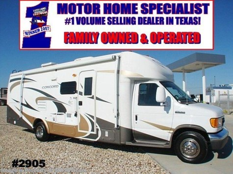 Used 2007 Coachmen Concord class c motorhome  27' W/2 Slides For Sale by Motor Home Specialist available in Alvarado, Texas