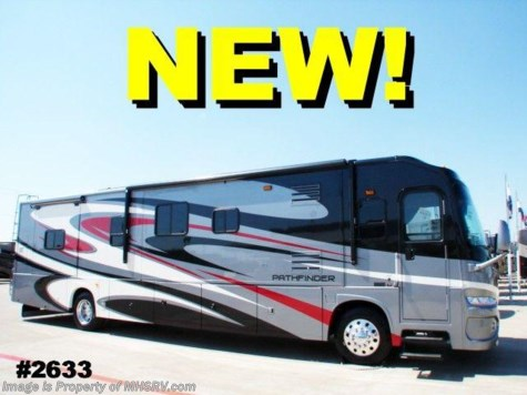 New 2009 Coachmen class a motorhome Pathfinder 40' (FK) W/4 Slides For Sale by Motor Home Specialist available in Alvarado, Texas