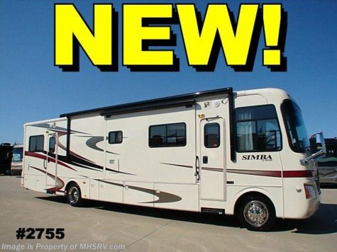New 2008 Safari Simba toy hauler  FD Toy Hauler 39' W/2 Slides For Sale by Motor Home Specialist available in Alvarado, Texas
