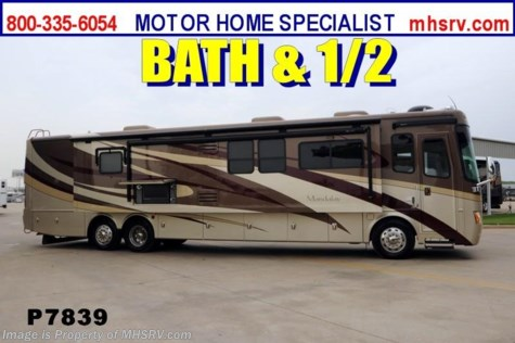 Used 2008 Mandalay Bath and a Half W/3 Slides Incuding a Full Wall For Sale by Motor Home Specialist available in Alvarado, Texas