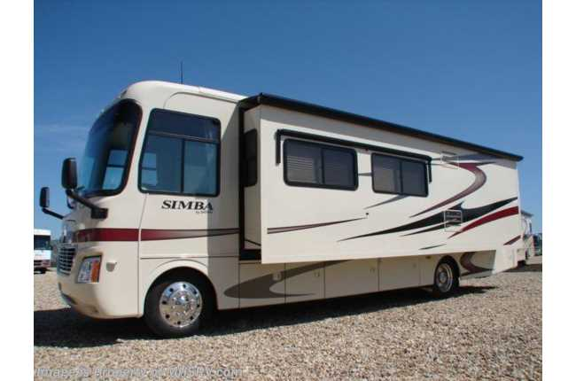 New 2008 safari simba for Class a rv height