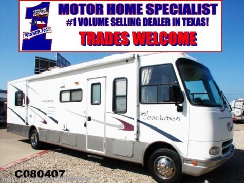 c080407 2003 coachmen mirada 34 39 w slide for sale in