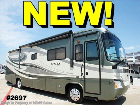 New 2008 Safari Simba Rear Diesel (37PDQ) W/4 slides For Sale by Motor Home Specialist available in Alvarado, Texas