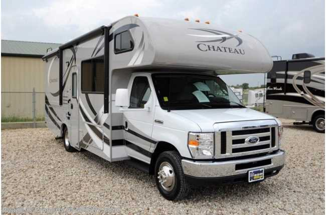 New 2014 thor motor coach chateau for Class a motorhome height