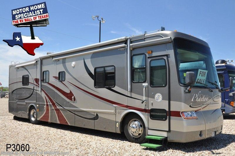 2005 tiffin rv phaeton class a rv w 4slides for sale in for Motor homes for sale in texas