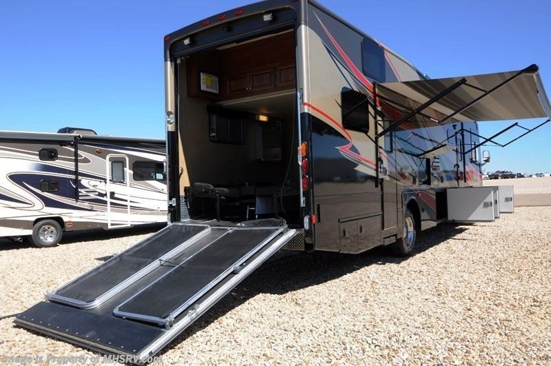 2014 Thor Motor Coach Rv Outlaw 37ls Garage 26k Chassis