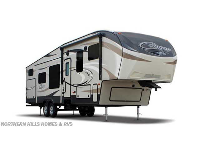 Stock Image for 2016 Keystone Cougar 326SRX (options and colors may vary)