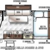 2018 Forest River Flagstaff E-Pro E19FBS floorplan image