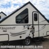 New 2017 Forest River Flagstaff Hard Side T21QBHW For Sale by Northern Hills Homes and RV's available in Whitewood, South Dakota