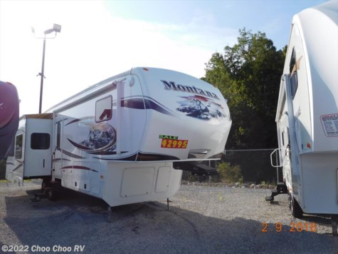 Used 2011 Keystone Montana Hickory 3580RL For Sale by Choo Choo RV available in Chattanooga, Tennessee