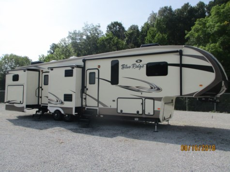 Used 2016 Forest River Blue Ridge 3720BH For Sale by Choo Choo RV available in Chattanooga, Tennessee