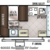 2018 Forest River Flagstaff 206STSE floorplan image