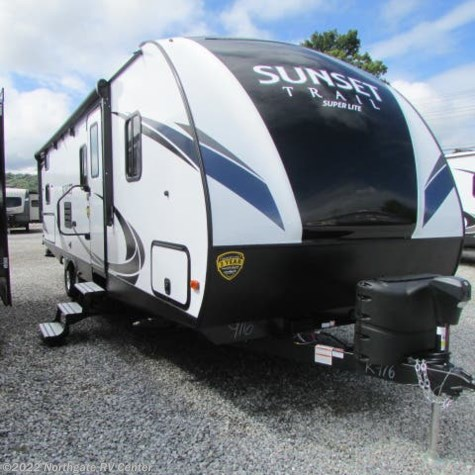 New 2019 CrossRoads Sunset Trail Super Lite 262BH For Sale by Northgate RV Center available in Louisville, Tennessee