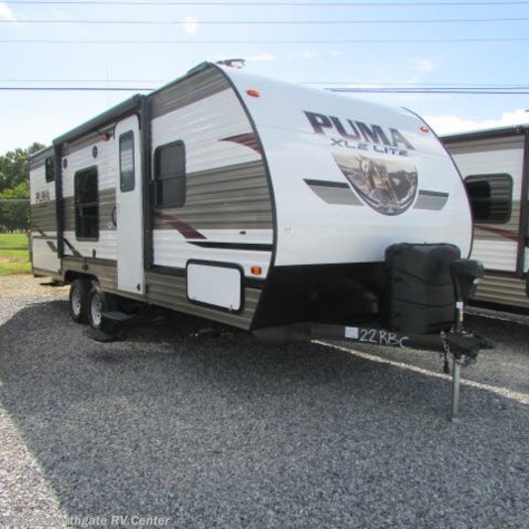 New 2019 Palomino Puma XLE Lite 22RBC For Sale by Northgate RV Center available in Louisville, Tennessee