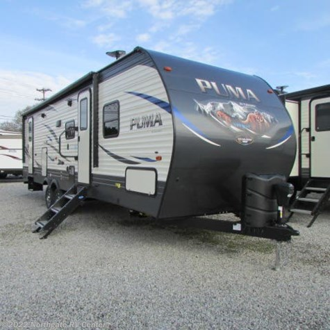 New 2019 Palomino Puma 28DBFQ For Sale by Northgate RV Center available in Louisville, Tennessee