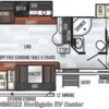 2019 Forest River Flagstaff Super Lite 29RSWS floorplan image
