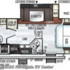 2019 Forest River Rockwood Mini Lite 2507S floorplan image