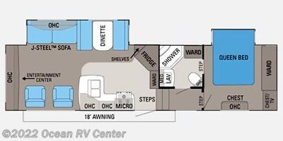 2011 Jayco Eagle Super Lite 31.5 RLDS floorplan image
