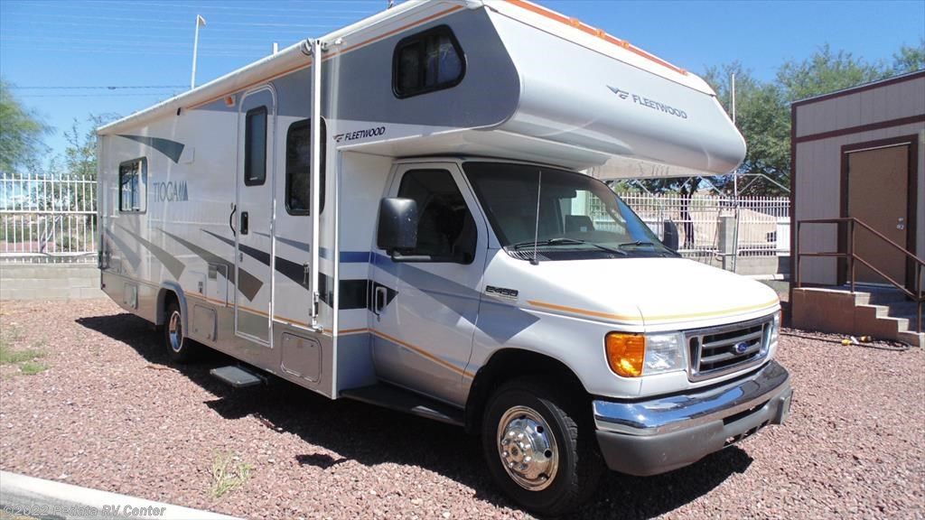 11089 used 2007 fleetwood tioga 28f w 1sld class c rv for Used class c motor home