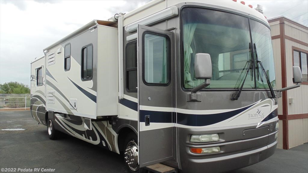 11102 used 2005 national rv tropical lx 370 w 3slds for Used diesel motor homes