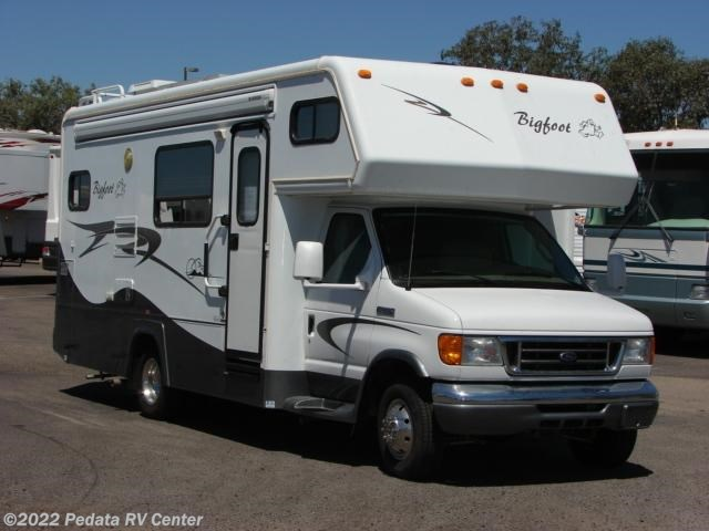 9993 used 2007 bigfoot 24sl 1 sld class c rv for sale for Used class c motor home