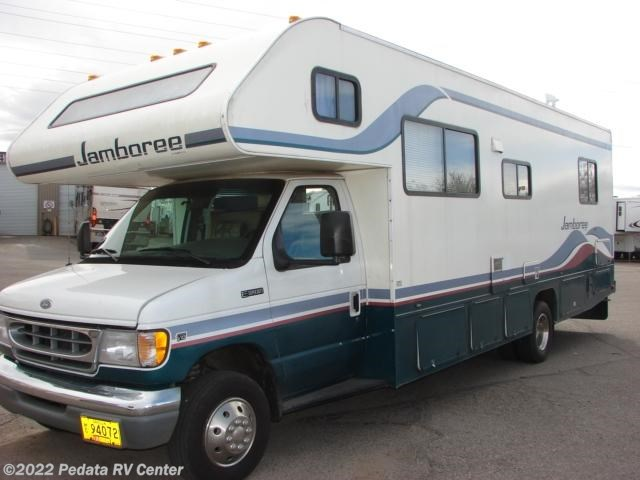 10416 Used 1998 Fleetwood Jamboree 29v Class C Rv For Sale
