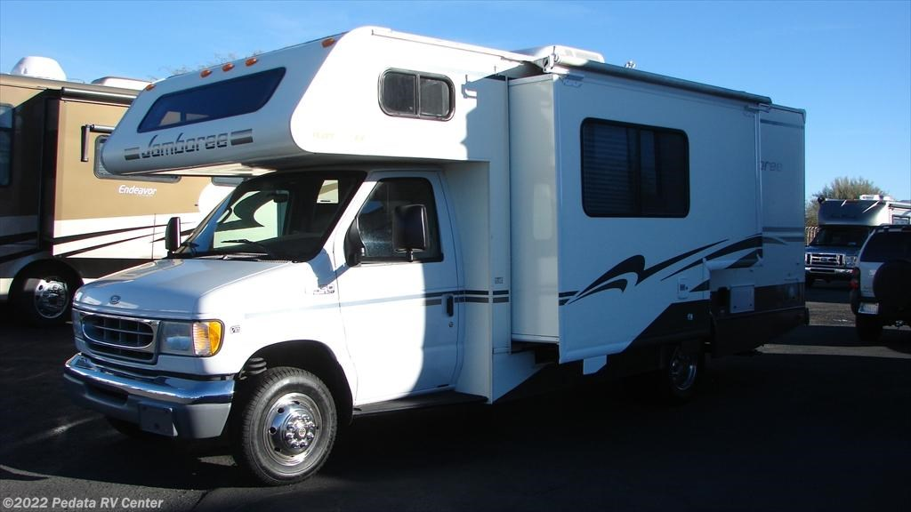 10653 used 2002 fleetwood jamboree 23e class c rv for sale for Used class c motor homes for sale