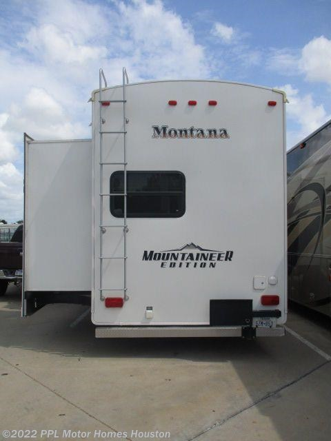 Used keystone montana mountaineer fifth wheel trailer for Ppl motor homes texas