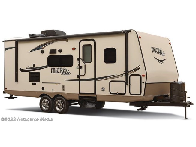 Stock Image for 2016 Forest River Flagstaff Micro Lite 25BHS (options and colors may vary)