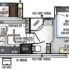 2018 Forest River Rockwood Ultra Lite 2440BS floorplan image