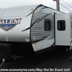 2017 Forest River Salem 28CKDS  - Travel Trailer New  in Mechanicsville MD For Sale by Economy RVs call 800-226-0226 today for more info.