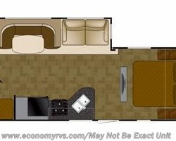 2014 Heartland RV Wilderness WD 2650BH floorplan image