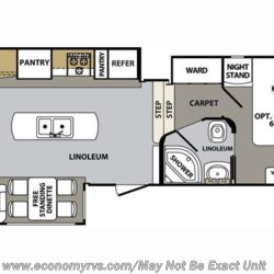 2017 Forest River Cardinal 3850RL floorplan image