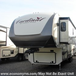 2017 Forest River Cardinal 3850RL  - Fifth Wheel New  in Mechanicsville MD For Sale by Economy RVs call 800-226-0226 today for more info.