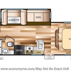 2017 Forest River Salem Cruise Lite T273QBXL floorplan image
