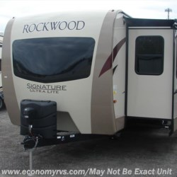 2018 Forest River Rockwood Signature Ultra Lite 8335BSS  - Travel Trailer New  in Mechanicsville MD For Sale by Economy RVs call 800-226-0226 today for more info.