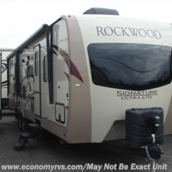 New 2017 Forest River Rockwood Signature Ultra Lite 8312SS For Sale by Economy RVs available in Mechanicsville, Maryland