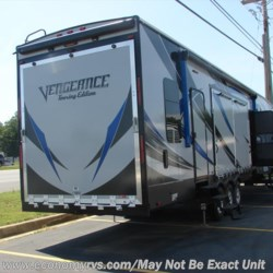 2017 Forest River Vengeance Touring Edition 40D12  - Toy Hauler New  in Mechanicsville MD For Sale by Economy RVs call 800-226-0226 today for more info.