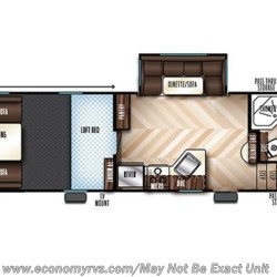 2017 Forest River Vengeance 311A13 floorplan image