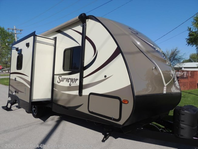 2016 26 RBDS SURVEYOR TRAVEL TRAILER