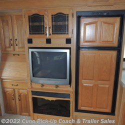 Double Door Refrigerator, Complete Entertainment Center w/ TV & Fireplace