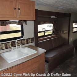 Kitchen Sink, Upper Cabinets & Sofa Bed