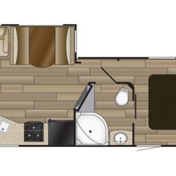 2017 Cruiser RV MPG 2650RL floorplan image