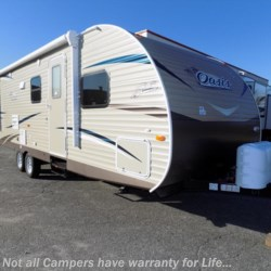 New 2018 Shasta Oasis 26DB For Sale by COLUMBUS CAMPER & MARINE CENTER available in Columbus, Georgia